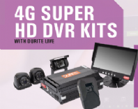 "DURITE  <br>ALT/0-876-41 <br>DL1 4 camera 4G DVR KIT with standard 7"" monitor"